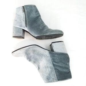 Sam Edelman Circus Velvet Ankle Boots 11